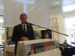 """De wethouder opent de tentoonstelling """"Bezet en bevrijd"""" in museum Veenendaal"""