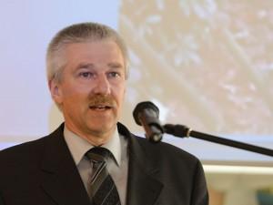 Uitgever Toine Maas sprak namens Uitgeverij Matrijs uit Utrecht.